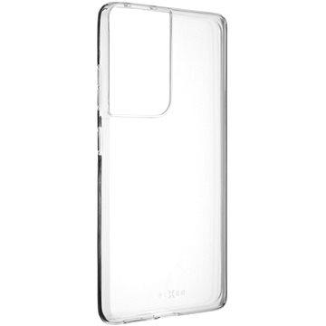 FIXED Skin Samsung Galaxy S21 Ultra 0.6 mm készülékre, áttetsző - Mobiltelefon hátlap