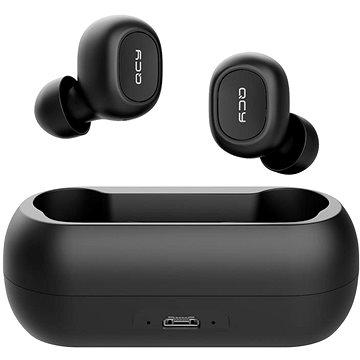 QCY T1C fekete - Vezeték nélküli fül-/fejhallgató