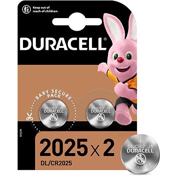 Duracell CR2025 - 2 db - Gombelem