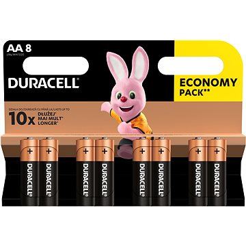Duracell Basic AA 8 db - Eldobható elem