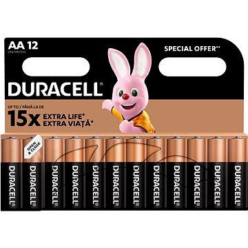 Duracell Basic AA 12 db - Eldobható elem