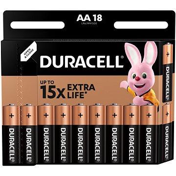 Basic Duracell AA 18 db - Eldobható elem