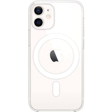 Apple iPhone 12 Mini átlátszó tok MagSafe-fel - Telefon hátlap