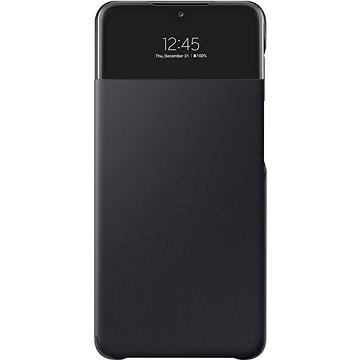 Samsung Flip tok S View Galaxy A32 (5G) készülékre, fekete - Mobiltelefon tok