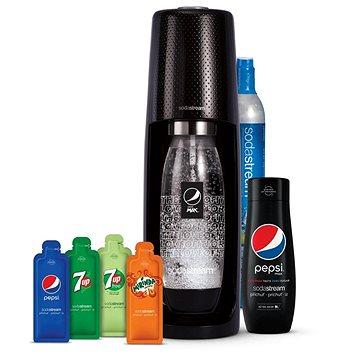 Sodastream Spirit Black Pepsi MegaPack - Szódakészítő