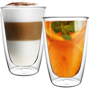 Aramoro Coffee, kettős falú, 270 ml, 2 db - Pohárkészlet