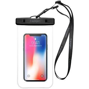 """Spigen Velo A600 8"""" Waterproof Phone Case ,Clear - Mobiltelefon tok"""