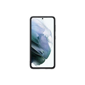 Samsung szilikon hátlap Galaxy S21 készülékre fekete - Telefon hátlap