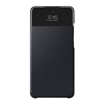 Samsung S-View tok a Galaxy A52  készülékhez Black - Telefon hátlap