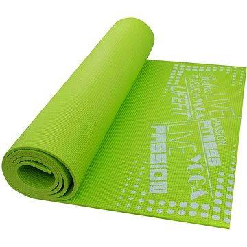 Lifefit Slimfit gimnasztikai szőnyeg, könnyű, zöld - Fitnesz szőnyeg