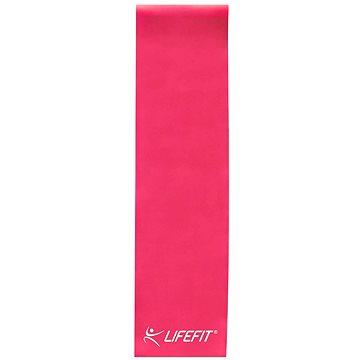 LifeFit Flexband fitneszgumi 0,35, rózsaszín - Fitneszgumi