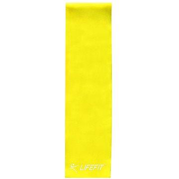 LifeFit Flexband 0,45, sárga - Fitneszgumi