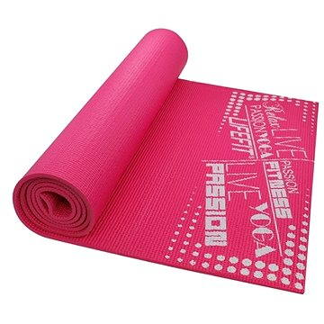 Lifefit Slimfit Plus gimnasztikai szőnyeg, könnyű, rózsaszín - Fitnesz szőnyeg