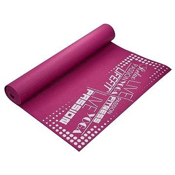 Lifefit Slimfit gimnasztikai szőnyeg, bordó - Fitnesz szőnyeg