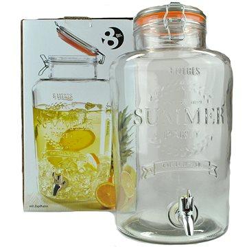 MASER SUMMER FUN 8 literes üveg italadagoló csappal - Italadagoló
