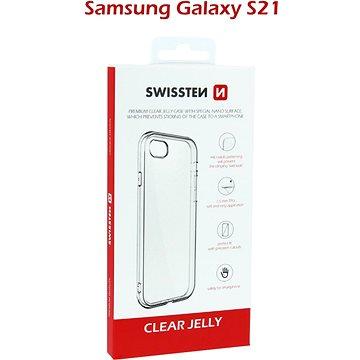 Swissten Clear Jelly a Samsung Galaxy S21  készülékhez átlátszó - Telefon hátlap