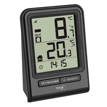 Vezeték nélküli hőmérő TFA 30.3063.01 PRISMA - Időjárás állomás
