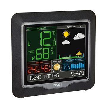 Vezeték nélküli meteorológiai állomás színes kijelzővel TFA 35.1150.01 SEASON - Időjárás állomás