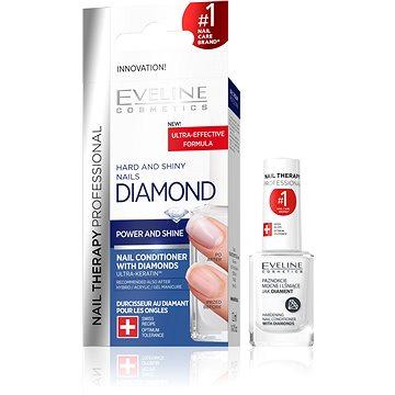 EVELINE Cosmetics Gyémántos Körömerősítő az Erős és Fényes Körmökért (12 ml) - Hajbalzsam
