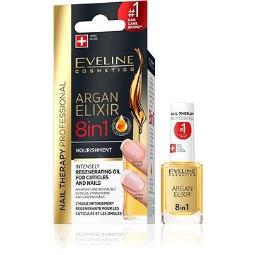 EVELINE Cosmetics Nail Spa körömágy ápló argan olajjal 12 ml - Körömápoló olaj