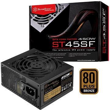 SilverStone SFX Bronze ST45SF v 3.0 450W - PC tápegység