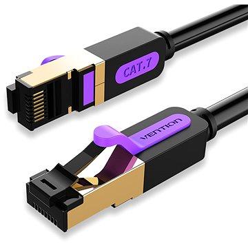 Vention Cat.7 SSTP Patch Cable 15m Black - Hálózati kábel