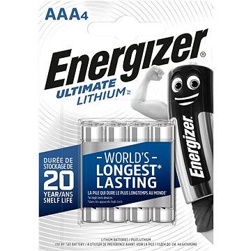 Energizer Ultimate Lithium AAA/4 - Eldobható elem