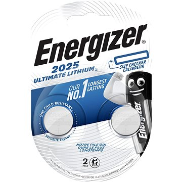 Energizer Ultimate Lithium CR2025, 2 db - Gombelem