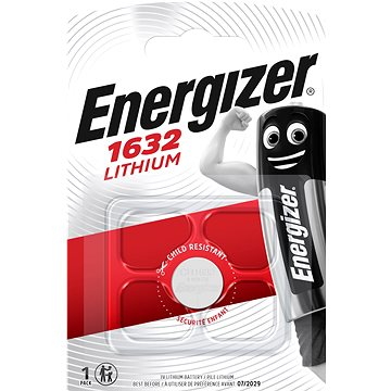 Energizer Lítium gombelem CR1632 - Gombelem