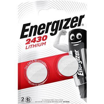 Energizer lítium gombelem CR2430 2 db - Gombelem
