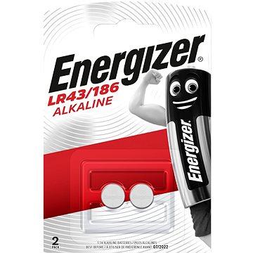 Energizer LR43 / 186 speciális alkáli elem 2 darab - Gombelem