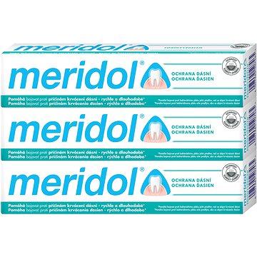 MERIDOL 3 × 75 ml - Fogkrém