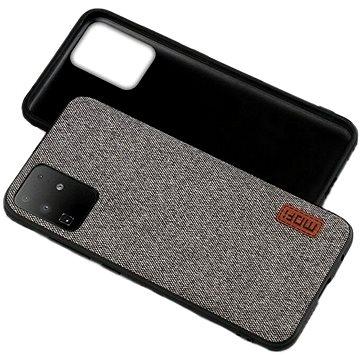 MoFi Fabric Back Cover Samsung Galaxy A10, szürke - Telefon hátlap