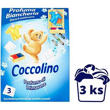 COCCOLINO Primavera - 3 illatszeres zacskó - Szekrény illatosító