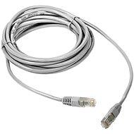 DATACOM Patch kábel CAT5E UTP 0,25 m fehér - Hálózati kábel