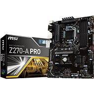 MSI Z270-A PRO - Alaplap