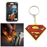 DC COMICS Superman - világító kulcstartó - Zseblámpa kulcstartó