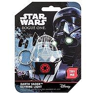 STAR WARS Darth Vader - világító kulcstartó - Zseblámpa kulcstartó