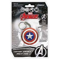 MARVEL Captain America - többfunkciós kulcstartó - Zseblámpa kulcstartó