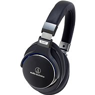 Audio-Technica ATH MSR7BK, fekete - Mikrofonos fej-/fülhallgató