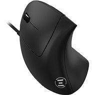 Eternico Wired Vertical Mouse MDV100 balkezeseknek, fekete - Egér