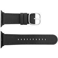 Eternico Apple Watch 42mm / 44mm Leather, fekete - Szíj