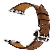 Eternico Apple Watch 42mm / 44mm Leather Strap, barna - Tartozék