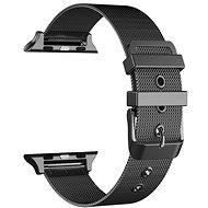 Eternico Apple Watch 38mm / 40mm Mesh Metal Band, fekete - Szíj