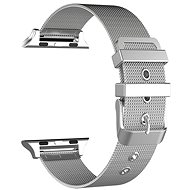 Eternico Apple Watch 42mm / 44mm Mesh Metal Band, ezüst - Tartozék