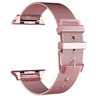 Eternico Apple Watch 42mm / 44mm Mesh Metal Band, rózsaszín - Szíj