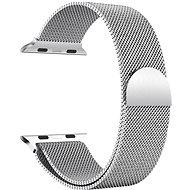 Eternico 38mm / 40mm / 41mm Milanese ezüst Apple Watch-hoz - Szíj