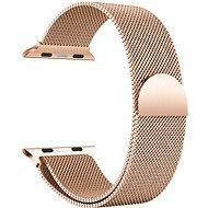 Eternico 42mm / 44mm Milanese rózsaarany Apple Watch-hoz - Szíj