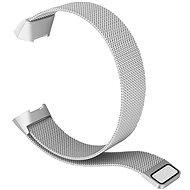 Eternico Fitbit Charge 3 / 4 Steel, ezüst (Large) - Szíj