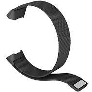 Eternico Fitbit Charge 3 / 4 Steel, fekete (Large) - Szíj